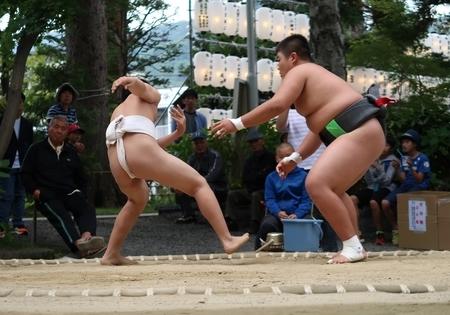 令和元年 西野神社秋まつり(中学生相撲)
