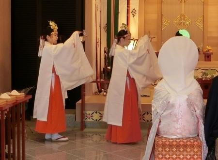 西野神社 助勤巫女