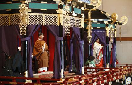 令和元年 即位礼正殿の儀