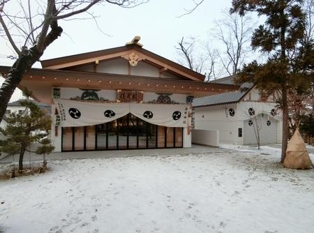令和元年 年末の西野神社儀式殿