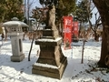 令和元年 年末の西野神社境内