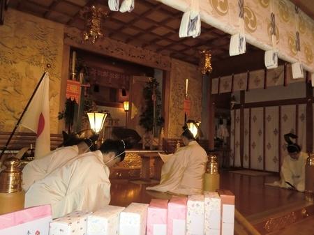 令和2年正月 西野神社 歳旦祭