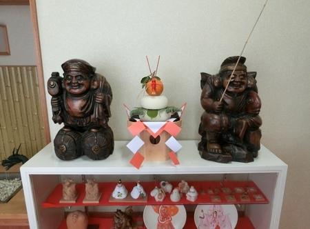 令和2年正月 西野神社 鏡餅