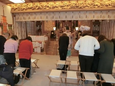 令和2年1月 西野神社 新年祈祷