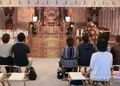 西野神社 御祈祷での玉串拝礼