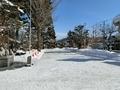 3月上旬の西野神社境内