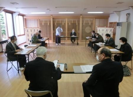令和2年4月 神社役員・各崇敬会会長達による臨時会議