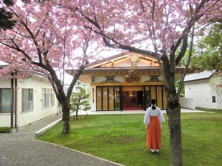 令和2年5月中旬 西野神社 儀式殿