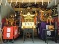 西野神社 神輿殿内