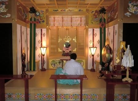 鎮魂行法(西野神社儀式殿)
