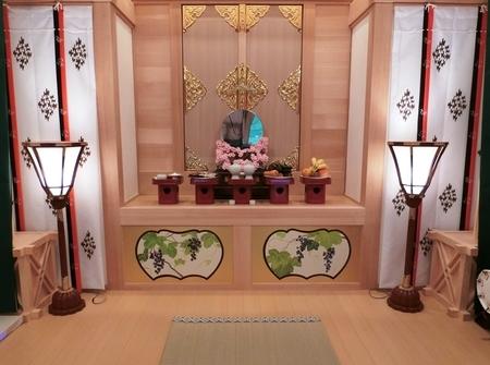 西野神社 儀式殿内(大前)