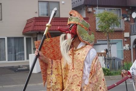 猿田彦命奉仕者(西野神社神幸行列)