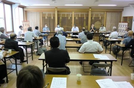 令和2年7月 西野神社総代会
