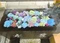 令和2年7月 西野神社の花手水