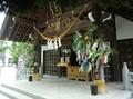 西野神社 拝殿向拝(令和2年7月)