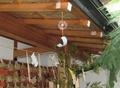 西野神社の風鈴(授与所)