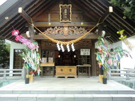令和2年8月上旬の西野神社境内