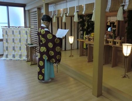 西野神社 祖霊殿