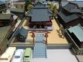 建物コレクション「神社B」とジオラマ