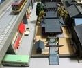 建物コレクション「神社B」とNゲージ鉄道模型