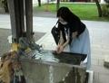 西野神社 手水舎