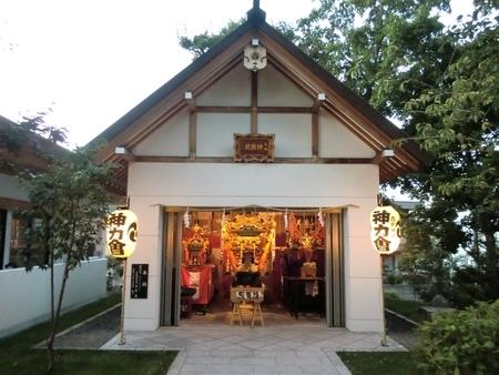 令和2年9月 秋まつり当日の西野神社