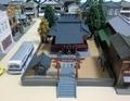 ジオコレ「神社B」と昭和の風景
