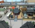 ジオコレ「神社B」とNゲージの宗谷本線ディーゼル特急
