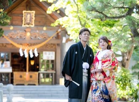 神前結婚式のイメージ写真