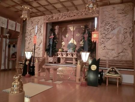 西野神社の本殿・幣殿