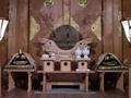 西野神社の本殿御扉