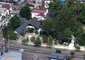 西野神社 社殿の航空写真