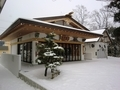 令和2年末の西野神社 儀式殿