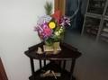 令和3年 西野神社元日 社務所玄関内の正月飾り