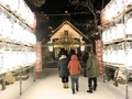 令和3年 西野神社元日 参道と奉納提灯