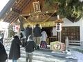 令和3年 西野神社元日 拝殿向拝