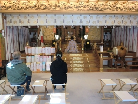 令和3年 西野神社三が日 社殿での御祈祷