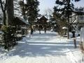 令和3年1月上旬 西野神社 境内