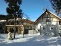 令和3年1月上旬 西野神社 儀式殿と神輿殿