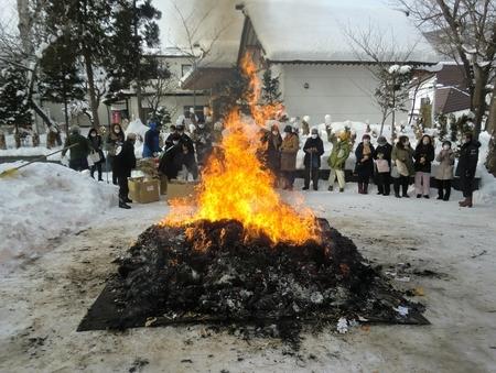 令和3年 西野神社 どんど焼き