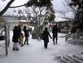 令和3年 西野神社 どんど焼きの日の境内