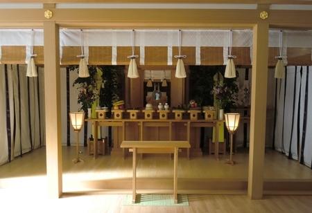 西野神社での霊祭
