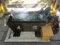 西野神社 手水