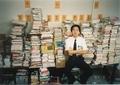 書店の倉庫にて