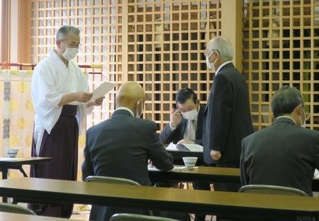 令和3年4月25日 西野神社 定例総会