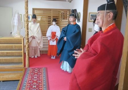 令和3年4月25日 西野神社春季例祭 直後