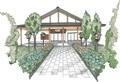 西野神社参集殿 完成予想図