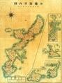 戦前の沖縄県地図