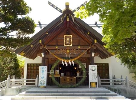 令和3年 西野神社 夏越大祓「茅の輪」