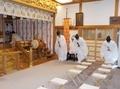 令和3年 西野神社 夏越大祓式(社殿内での神事)